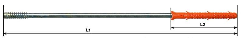 Borgh Facafix gevelschroeven maatbepaling
