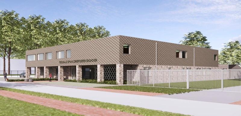 Dierenopvang-Eindhoven-ontwerp-MAG-architecten-gevel-isofinish-systeem
