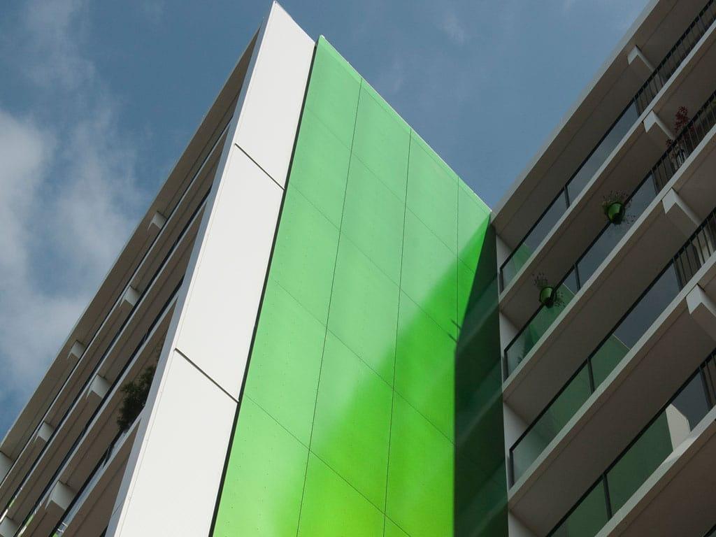 Gevelrenovatie appartementencomplex Weezenhof