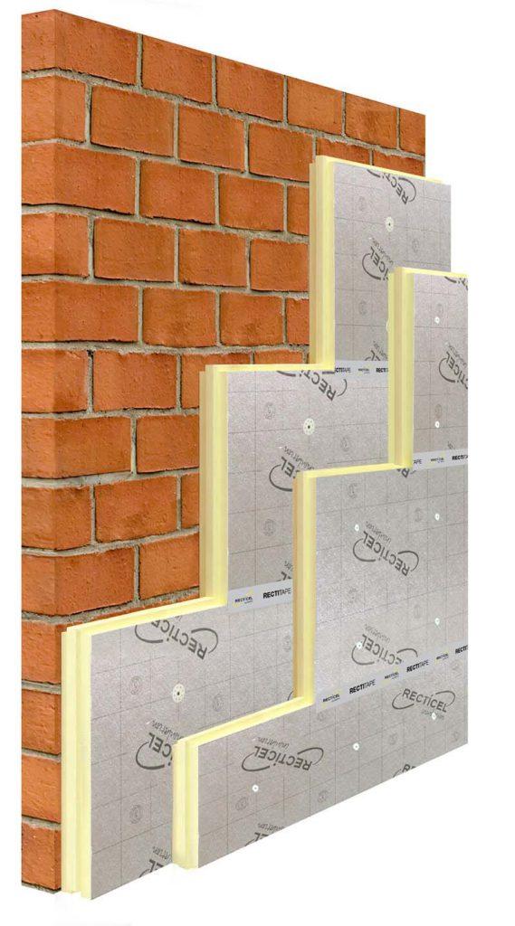 Hoe werkt het Isofinish gevelmontagesysteem stap 1 Isofinish-systeem-muur-isolatie-