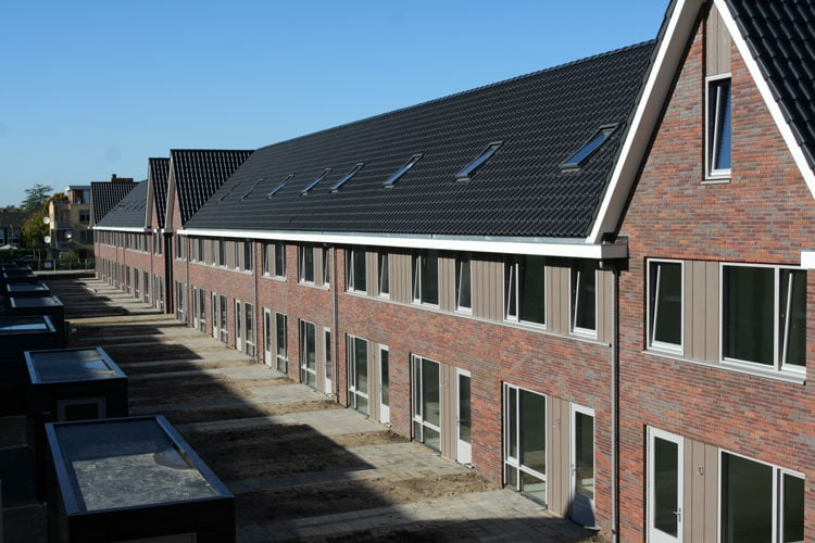 Nieuwbouw-Rivierenwijk-Deventer-met-Isofinish-gevelmontagesysteem